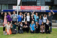 Delegates from a young persons conference at the QE2 Conference Centre