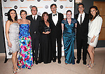 Natascia Diaz, Adrienne Arsht, Eric Schaeffer, Patti Lupone, Howard McGillin, Maggie Boland, Joseph Thalken & Laura Benanti.attending the Signature Theatre Stephen Sondheim Award Gala reception honoring Patti Lupone at the Embassy of Italy in Washington D.C. on 4/16/2012.