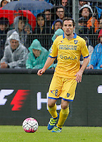 Robert Gucher during the  italian serie a soccer match,between Frosinone and Inter      at  the Matusa   stadium in Frosinone  Italy , April 09, 2016