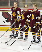 Emmanuelle Blais (Minnesota-Duluth - 47), Sarah Murray (Minnesota-Duluth - 22), Laura Fridfinnson (Minnesota-Duluth - 19) - The University of Minnesota-Duluth Bulldogs defeated the Boston College Eagles 3-0 on Friday, November 27, 2009, at Conte Forum in Chestnut Hill, Massachusetts.
