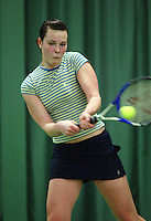 10-3-06, Netherlands, tennis, Rotterdam, National indoor junior tennis championchips, Stefanie Post