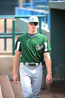 University of South Florida Bulls pitcher Josh Walker (40) before a game against the Temple University Owls at Campbell's Field on April 13, 2014 in Camden, New Jersey. USF defeated Temple 6-3.  (Tomasso DeRosa/ Four Seam Images)