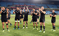 PRETORIA, SOUTH AFRICA - OCTOBER 06: General views of the New Zealand All Blacks during the Rugby Championship match between South Africa Springboks and New Zealand All Blacks at Loftus Versfeld Stadium. on October 6, 2018 in Pretoria, South Africa. Photo: Steve Haag / stevehaagsports.com
