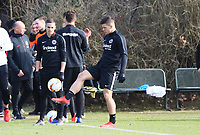 Luka Jovic (Eintracht Frankfurt) - 20.02.2019: Eintracht Frankfurt Training, UEFA Europa League, Commerzbank Arena, DISCLAIMER: DFL regulations prohibit any use of photographs as image sequences and/or quasi-video.