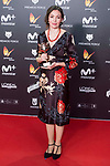 Lucija Stojevic receives the Best Documentary Award during Feroz Awards 2018 at Magarinos Complex in Madrid, Spain. January 22, 2018. (ALTERPHOTOS/Borja B.Hojas)