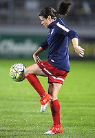 Boyds, MD - Friday Sept. 30, 2016: Diana Matheson prior to a National Women's Soccer League (NWSL) semi-finals match between the Washington Spirit and the Chicago Red Stars at Maureen Hendricks Field, Maryland SoccerPlex. The Washington Spirit won 2-1 in overtime.