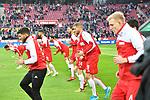 14.01.2018, RheinEnergieStadion, Koeln, GER, 1.FBL., 1. FC K&ouml;ln vs. Borussia M&ouml;nchengladbach<br /> <br /> im Bild / picture shows: <br /> beim Aufwaermen, Einzelaktion,  der K&ouml;lner <br /> <br /> <br /> Foto &copy; nordphoto / Meuter