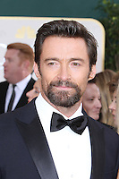 BEVERLY HILLS, CA - JANUARY 13: Hugh Jackman at the 70th Annual Golden Globe Awards at the Beverly Hills Hilton Hotel in Beverly Hills, California. January 13, 2013. Credit MediaPunch Inc. /NortePhoto