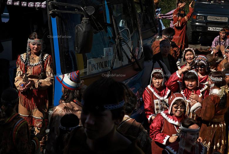 Ethnic dancing festival named:.Zolotie Rodniki.