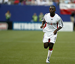17 April 2004: Freddy Adu entered the game as a substitute in the 54th minute. The MetroStars defeated DC United 3-2 at Giants Stadium in East Rutherford, NJ during a regular season Major League Soccer game..