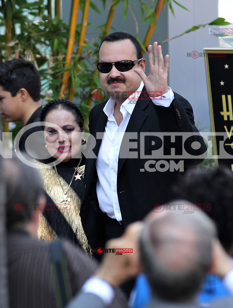 Who: Pepe Aguilar & Family: Mother, Wife & ChildrenWhat: Recieving the Hollywood Walk of Fame Star.Where: Hollywood, CAWhen: July 26, 2012Mandatory Credit: ©The Media Circuit?.sales@themediacircuit.com /NOrtePhoto.com <br />