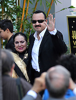 Who: Pepe Aguilar &amp; Family: Mother, Wife &amp; ChildrenWhat: Recieving the Hollywood Walk of Fame Star.Where: Hollywood, CAWhen: July 26, 2012Mandatory Credit: &copy;The Media Circuit?.sales@themediacircuit.com /NOrtePhoto.com <br />