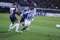 VOETBAL: HEERENVEEN: Abe Lenstra Stadion, 07-02-2015, Eredivisie, sc Heerenveen - PEC Zwolle, Eindstand: 4-0, Marten de Roon (#15), ©foto Martin de Jong