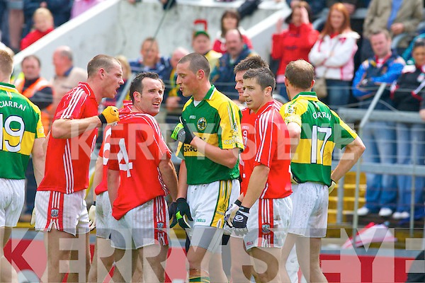 Kerry v Cork, GAA Football Munster Senior Championship Final,  Pairc Ui Chaoimh, Cork. 6th July 2008    Copyright Kerry's Eye 2008