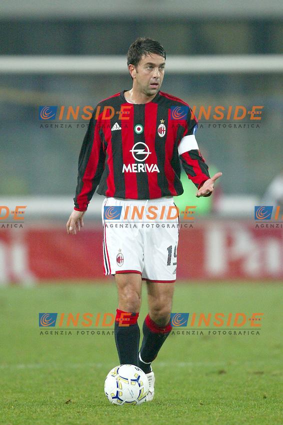 Verona 23 Novembre 2003 <br /> Chievo Milan 0-2 <br /> Alessandro Costacurta (Milan)<br /> Foto Andrea Staccioli Insidefoto