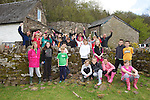 Pupils from Durand Primary School in Caldicot..Danywenallt Outdoor Centre .Talybont-On-Usk.30.04.12.©Steve Pope