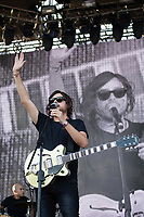 MEXICALI, MEXICO - June 8 Mexican Band Camilo VII performing on the Tecate Location June 8, 2019 in Mexicali, Mexico.<br /> Tecate Location Mexicali 2019 is one of the main music festivals nationwide and in the state, Band line up<br /> CAIFANES, CAMILO VII, DRAKE BELL, LNG / SHT, SERBIA<br /> (Photo by Luis Boza/VIEWpress)