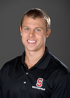 STANFORD, CA - September 9, 2010: Alex Avery , 2010 Waterpolo portraits.