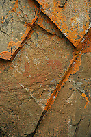 """Northern Lights Lake Pictographs""<br />