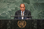 DSG meeting<br /> <br /> AM Plenary General DebateHis<br /> <br /> His Excellency Taneti MAAMAU President, Head of Government and Minister for Foreign Affairs and Immigration of the Republic of Kiribati