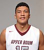 Osbel Caraballo of Upper Room poses for a portrait during the Newsday boys basketball season preview photo shoot at company headquarters on Tuesday, Dec. 13, 2016.
