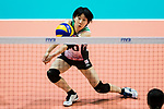Libero Mako Kobata of Japan in action during the FIVB Volleyball World Grand Prix - Hong Kong 2017 match between Japan and Russia on 23 July 2017, in Hong Kong, China. Photo by Yu Chun Christopher Wong / Power Sport Images