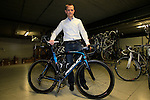 Jochen Bessemans, Ridley PR & Marketing Manager shows me the Belgian National World Championship team bikes in the factory in Paal-Beringen, Belgium, 21st March 2013 (Photo by Eoin Clarke 2013)