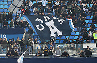 9th February 2020; Stadio San Paolo, Naples, Campania, Italy; Serie A Football, Napoli versus Lecce; supporters of Napoli get behind their team