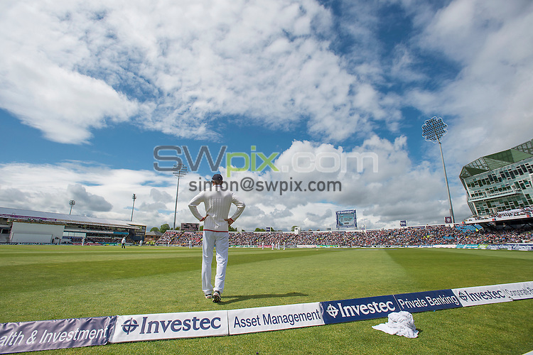 Picture by Allan McKenzie/SWpix.com - 21/05/2016 - Cricket - 2nd Investec Test - England v Sri Lanka - Headingley Cricket Ground, Leeds, England -  The brief, general view, GV.