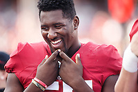 Stanford, CA - November 5, 2016: Michael Williams during  the Stanford vs Oregon State game at Stanford Stadium Saturday. <br /> <br /> Stanford won 26-15.