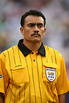 10 June 2007: Fourth Official Carlos Batres (GUA). The Panama and Cuba Men's National Teams tied 2-2 at Giants Stadium in East Rutherford, New Jersey in a first round game in the 2007 CONCACAF Gold Cup.