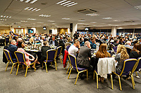 Pictured: General view of teh Gower Suite. Thursday 15 March 2018<br /> Re: Swansea City AFC Community Trust Celebration Event at the Liberty Stadium, Swansea, Wales, UK.