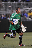 Nick Rimando...Kansas City Wizards and Real Salt Lake played to a 1-1 tie at Community America Ballpark, Kansas City, Kansas.