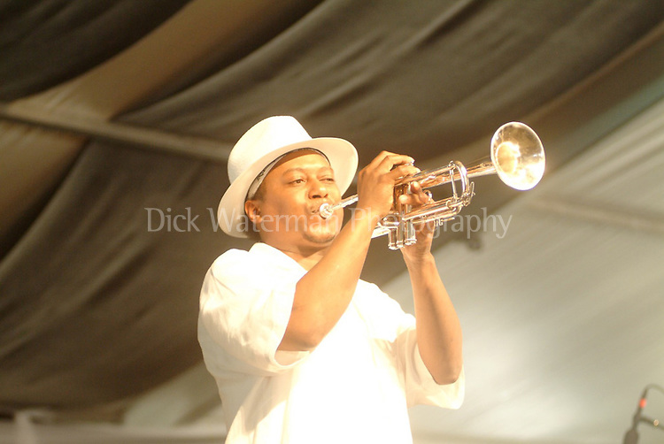Kermit Ruffins, New Orleans Jazz and Heritage Festival