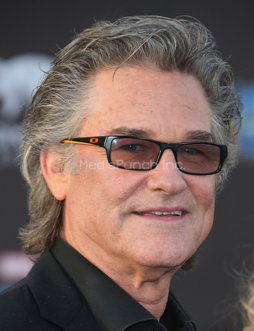 "HOLLYWOOD, CA - April 19: Kurt Russell, At Premiere Of Disney And Marvel's ""Guardians Of The Galaxy Vol. 2"" At The Dolby Theatre  In California on April 19, 2017. Credit: FS/MediaPunch"
