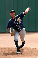 Toledo Mudhens Wilfredo Ledezma during an International League game at Dunn Tire Park on June 8, 2006 in Buffalo, New York.  (Mike Janes/Four Seam Images)