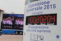 - proclamation of results of vote for assignment to city of Milan of  Universal Exhibition 2015....- proclamazione risultati della votazione per l'assegnazione alla città di Milano dell'esposizione universale del 2015