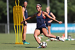 CARY, NC - AUGUST 17: Darian Jenkins. The North Carolina Courage held a training session on August 17, 2017, at WakeMed Soccer Park Field 3 in Cary, NC.