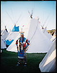 The Indian Village at the Pendleton Round-Up