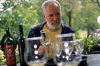 Europe/Croatie/Dalmatie/ Ile de Vis/ Vis: Chez Oliver Roki - Viticulteur -Domaine  Roki's