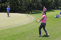 Y.E. Yang (KOR) chips onto the 13th green during Thursday's Round 1 of the 2017 PGA Championship held at Quail Hollow Golf Club, Charlotte, North Carolina, USA. 10th August 2017.<br /> Picture: Eoin Clarke | Golffile<br /> <br /> <br /> All photos usage must carry mandatory copyright credit (&copy; Golffile | Eoin Clarke)