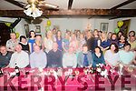 Marian Griffin From Blennerville celebrating her retirement from Kerry County Council after 36 years service on Friday night. with family and friends at Cassidy's