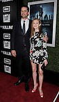 HOLLYWOOD, CA - MARCH 26: Billy Campbell and Mireille Enos arrives at AMC's 'The Killing' Season 2 Los Angeles Premiere at the ArcLight Cinemas on March 26, 2012 in Hollywood, California.