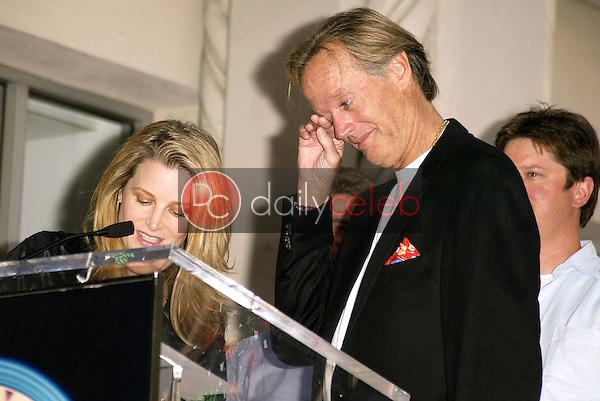 Bridget Fonda and Peter Fonda