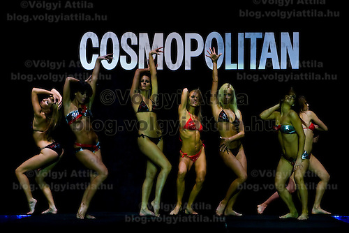 Cosmopolitan Bikini Show is the annual event of the magazine Cosmopolitan where models and celebrities present the bikini fashion of the summer.