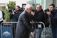 DFL Vorsitzender Dr. Reinhard Rauball - 04.10.2017: Deutschland Teamankunft, Stormont Hotel Belfast