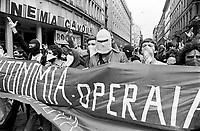 - demonstration of extreme left radical group &quot;Workers Autonomy&quot; (Milan, 1977)<br /> <br /> - manifestazione del gruppo di estrema sinistra &quot;Autonomia Operaia&quot;  (Milano, 1977)