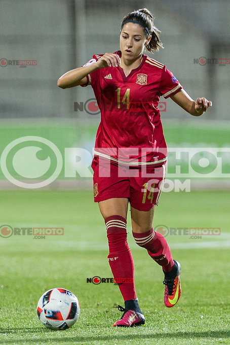Spain's Vicky Losada during the match of  European Women's Championship 2017 at Las Rozas, between Spain and Montenegro. September 15, 2016. (ALTERPHOTOS/Rodrigo Jimenez) /NORTEPHOTO