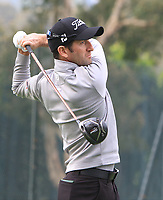 Gregory Bourdy (FRA) on the 11th tee during Round 1 of the UBS Hong Kong Open, at Hong Kong golf club, Fanling, Hong Kong. 23/11/2017<br /> Picture: Golffile | Thos Caffrey<br /> <br /> <br /> All photo usage must carry mandatory copyright credit     (&copy; Golffile | Thos Caffrey)