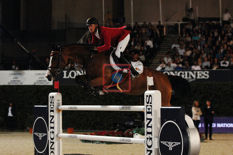 CSIO Barcelona 2018.<br /> Longines-Jumping Nations Cup-Barcelona 2018.<br /> Niels Bruynseels.